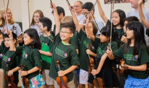 PAS String Camp Students