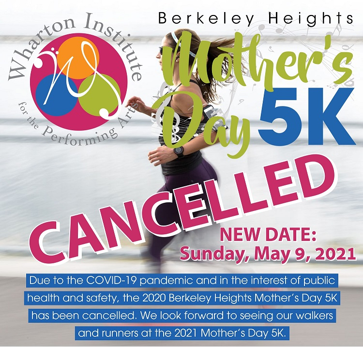 Mother's Day 5K Cancelled