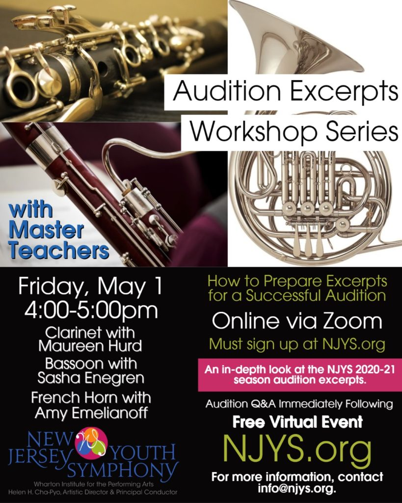 Excerpt Flyer Clarinet, Bassoon, French Horn