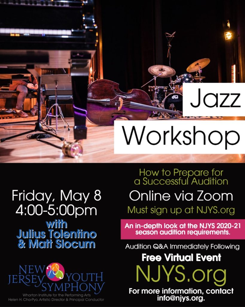 Jazz Workshop Flyer