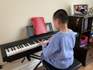 Virtual Piano Class