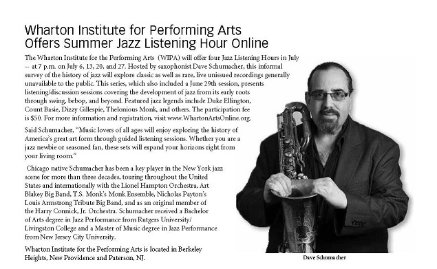 Jazz Listening Hour in Jersey Jazz Magazine