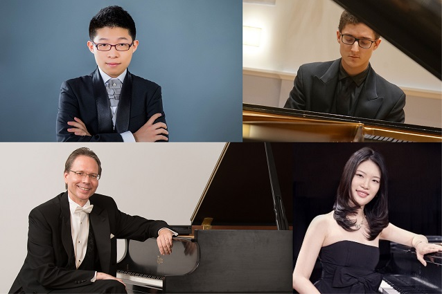 Salon Series: Two Pianos, Eight Hands